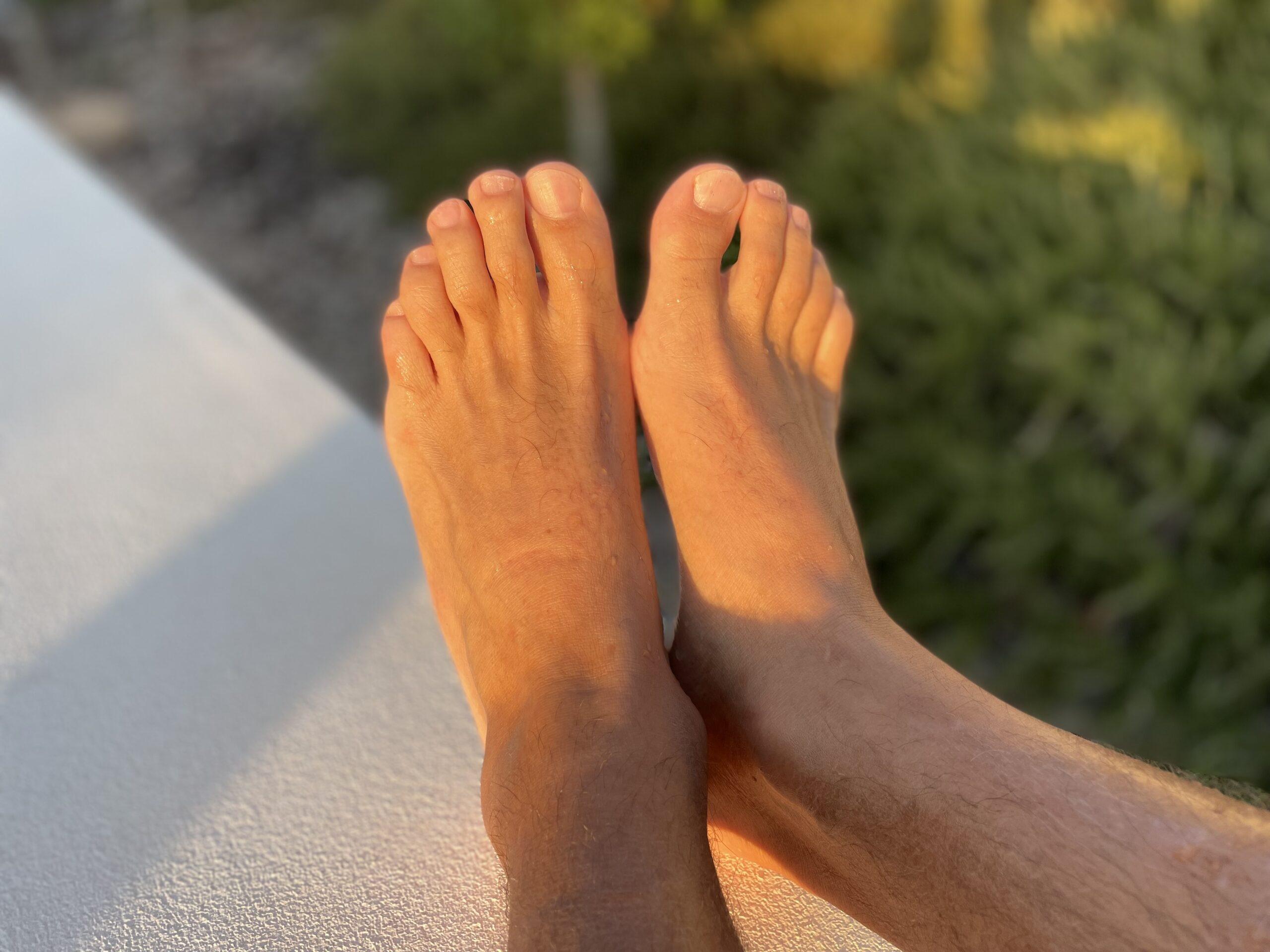 pies hombre