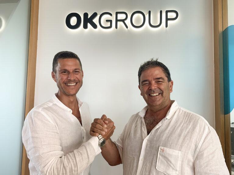 Othman Ktiri, Presidente y Fundador de OK Groupy y Ovidio Andrés Presidente de Smy Hotels